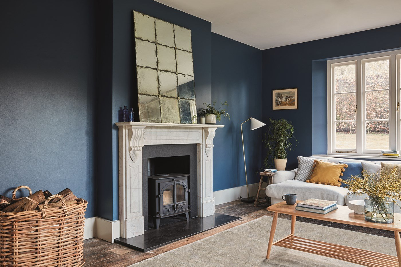Farrow and Ball 2021 colour trends - Stiffkey Blue