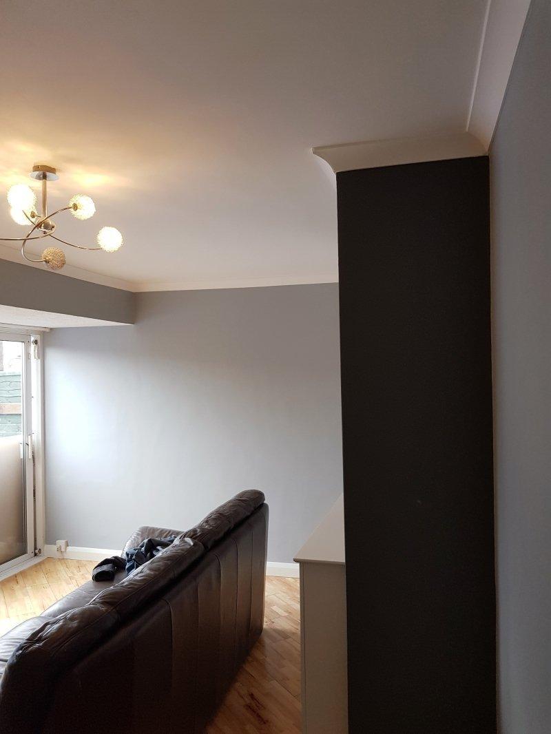 Elegant grey lounge