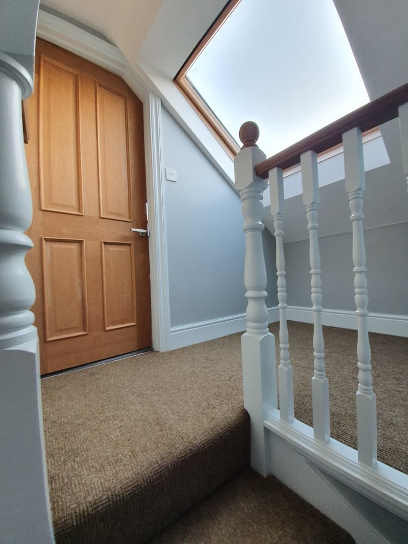 Painting and decorating in Medway - Landing and stairs